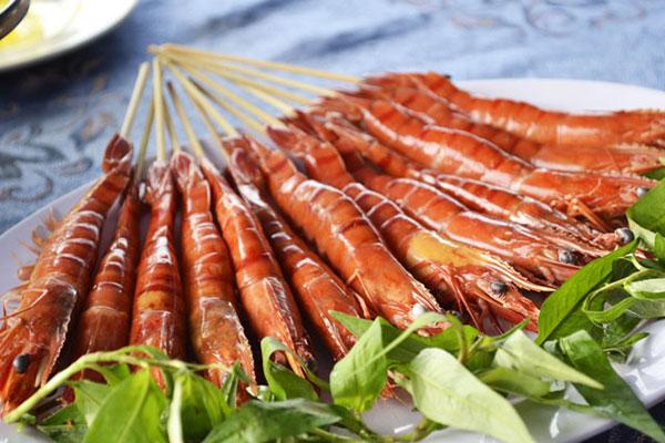 Bạn sẽ được thưởng thức rất nhiều món hải sản tươi ngon ở Vũng Tàu