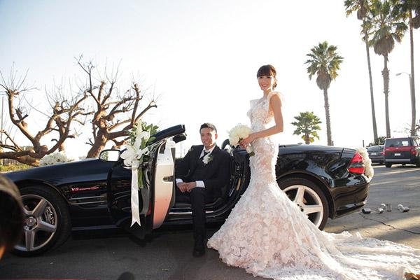 Hình ảnh Cho thuê xe hoa mui trần
