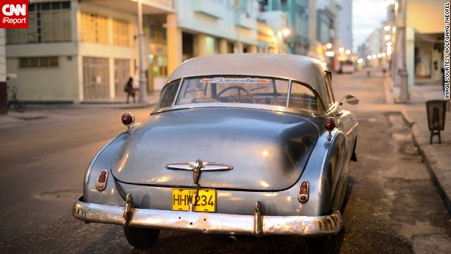 Hình ảnh muốn chơi xe cổ hãy đến Cuba