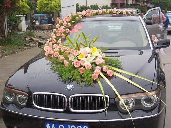 Hình ảnh cho thuê xe hoa BMW
