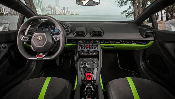 Hình ảnh Lamborghini Huracan mui trần cực đỉnh