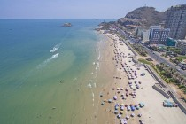 Cho thuê xe du lịch ngắm Vũng Tàu sau lệnh cấm ăn nhậu trên bãi biển