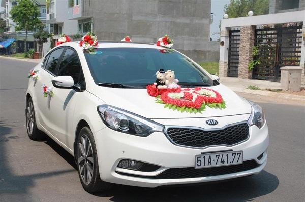 Hình ảnh cho thuê xe hoa giá rẻ Sài Gòn