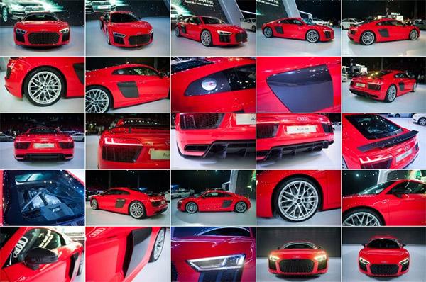 Hình ảnh Audi R8 V10 Plus hình ảnh thật siêu lộng lẫy tại Việt Nam