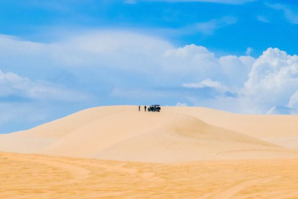 Những đồi cát tuyệt đẹp ở Mũi Né