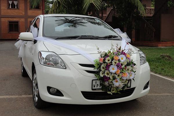 Hình ảnh cho thuê xe hoa sang trọng
