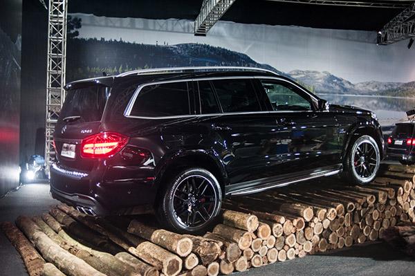 Hình ảnh Mercedes-Benz GLS-Class hầm hố với 4 phiên bản thần thánh