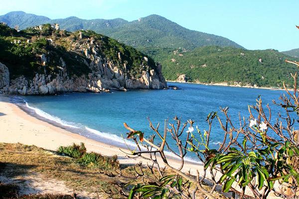 Hình ảnh cho thuê xe du lịch giá rẻ ngắm biển đẹp Ninh Thuận