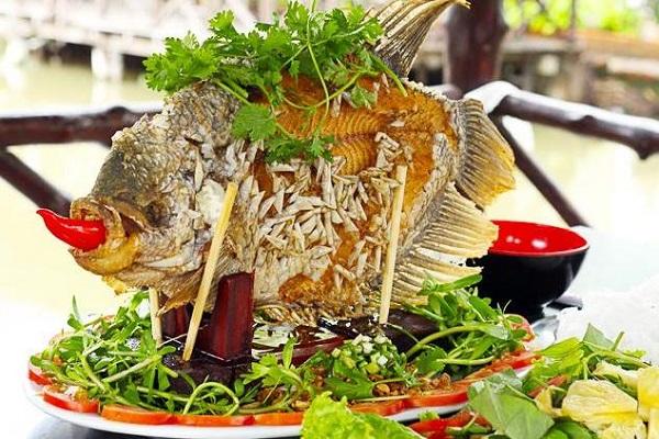 Đặc sản cá cháy Vĩnh Long