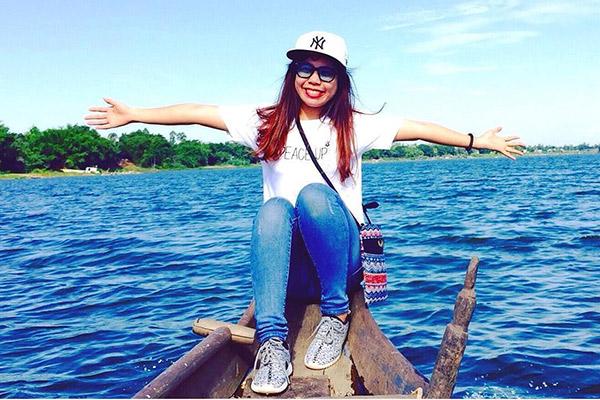 Hồ nước trời Búng Bình Thiên