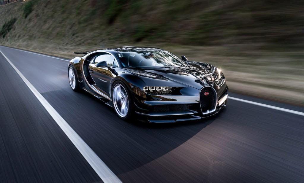 Bugatti Chiron ấn tượng