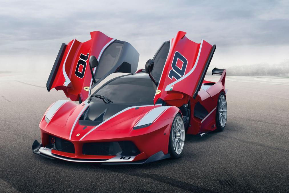 Ferrari LaFerrari FXX K kế thừa của dòng F1