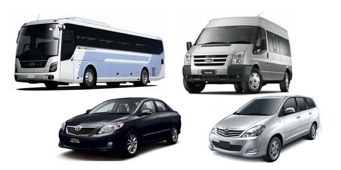 Gọi Xe cung cấp nhiều loại xe sang trọng, đời mới