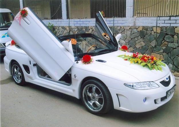 Cho thuê xe hoa cưới, xe du lịch