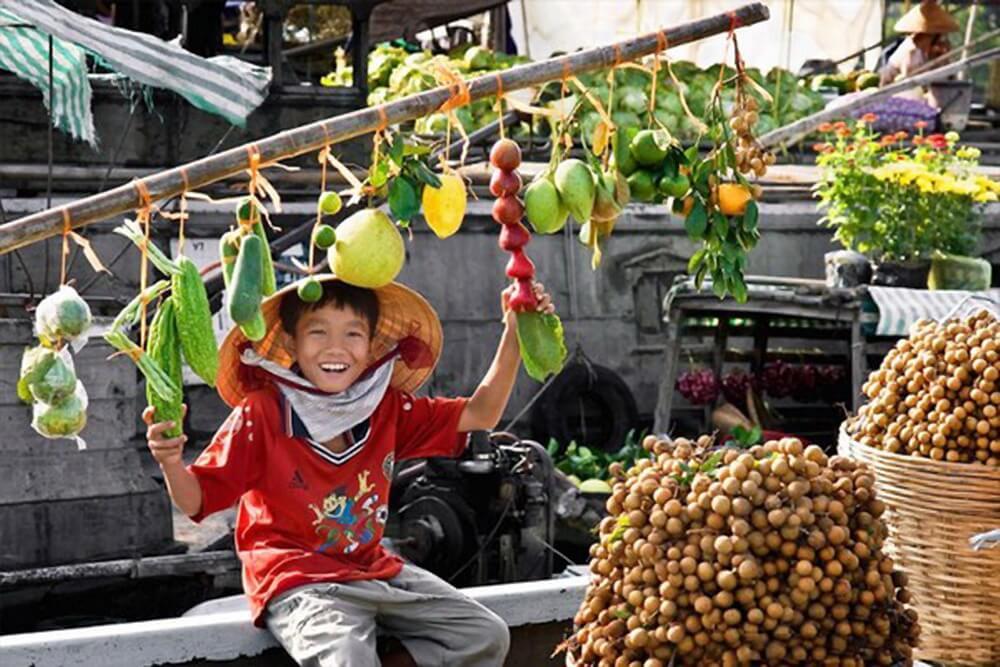Chợ nổi nét văn hóa tiêu biểu vùng đồng bằng sông Cửu Long