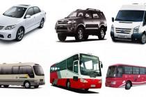 Cho thuê xe du lịch chất lượng cao tại Sài Gòn